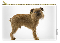 Brussels Griffon Carry-all Pouch by Jean-Michel Labat