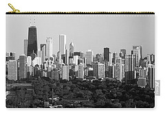 Buildings In A City, View Of Hancock Carry-all Pouch by Panoramic Images