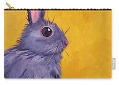 Bunny Carry-all Pouch by Nancy Merkle