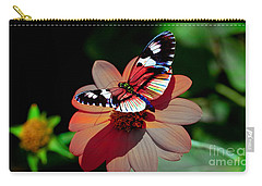 Butterfly Dont Fly Away Carry-all Pouch by Marvin Blaine