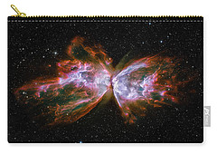 Butterfly Nebula Ngc6302 Carry-all Pouch by Adam Romanowicz