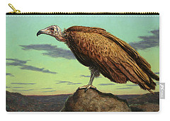 Buzzard Rock Carry-all Pouch by James W Johnson