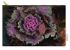 Cabbage With Butterfly Nebula Carry-all Pouch by Panoramic Images