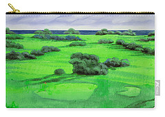 Campo Da Golf Carry-all Pouch by Guido Borelli