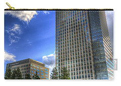 Canary Wharf Station London Carry-all Pouch by David Pyatt