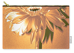Captain And Coke Zinnia Carry-all Pouch by Sherry Allen