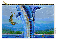 Caribbean Blue Off0041 Carry-all Pouch by Carey Chen
