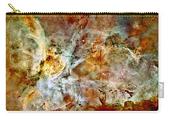 Carina Nebula Panorama Carry-all Pouch by Benjamin Yeager