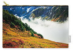 Cascade Pass Peaks Carry-all Pouch by Inge Johnsson