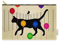 cat Carry-all Pouch by Mark Ashkenazi