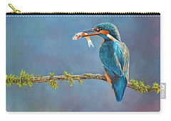 Catch Of The Day Carry-all Pouch by David Stribbling
