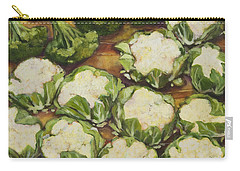 Cauliflower March Carry-all Pouch by Jen Norton