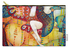 Centaur In Love Carry-all Pouch by Albena Vatcheva
