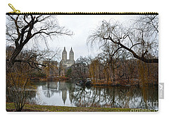 Central Park And San Remo Building In The Background Carry-all Pouch by RicardMN Photography