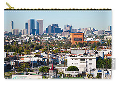 Century City, Beverly Hills, Wilshire Carry-all Pouch by Panoramic Images