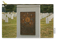 Challenger Space Shuttle Memorial Carry-all Pouch by Kim Hojnacki