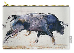 Charging Bull Carry-all Pouch by Mark Adlington