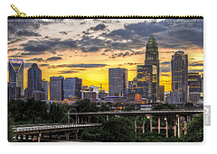 Charlotte Dusk Carry-all Pouch by Chris Austin