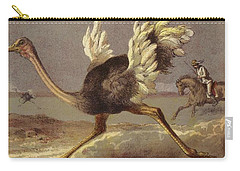 Chasing The Ostrich Carry-all Pouch by English School