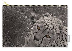 Cheetah Eyes Carry-all Pouch by Martin Newman