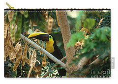 Chestnut-mandibled Toucan Carry-all Pouch by Art Wolfe