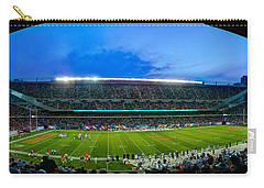 Chicago Bears At Soldier Field Carry-all Pouch by Steve Gadomski