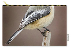 Chickadee Carry-all Pouch by Bill Wakeley