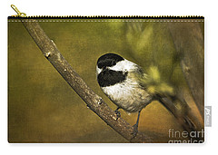 Chickadee Carry-all Pouch by Cindi Ressler