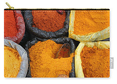 Chilli Powders 3 Carry-all Pouch by James Brunker