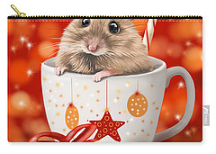 Christmas Cup Carry-all Pouch by Veronica Minozzi