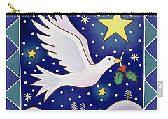 Christmas Dove  Carry-all Pouch by Cathy Baxter