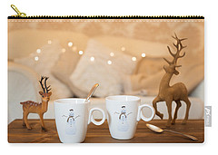 Christmas Teabreak Carry-all Pouch by Amanda Elwell