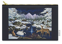 Christmas Wonder Carry-all Pouch by Lynn Bywaters