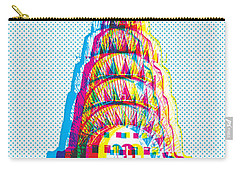 Chrysler Pop Art Carry-all Pouch by Gary Grayson