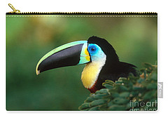 Citron-throated Toucan Carry-all Pouch by Art Wolfe