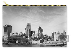 City Of London  Carry-all Pouch by Pixel Chimp