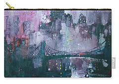 City That Never Sleeps Carry-all Pouch by Ylli Haruni