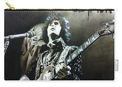 Eric Clapton - ' Clapton ' Carry-all Pouch by Christian Chapman Art