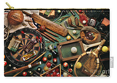 Classic Sports Gear Carry-all Pouch by Simon Kayne