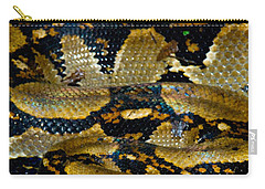 Close-up Of A Boa Constrictor, Arenal Carry-all Pouch by Panoramic Images