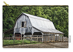 Clubhouse Road Barn Carry-all Pouch by Cricket Hackmann