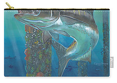Cobia Strike In0024 Carry-all Pouch by Carey Chen