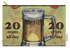 Cold Beer Carry-all Pouch by Debbie DeWitt