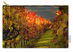 Color On The Vine Carry-all Pouch by Bill Gallagher