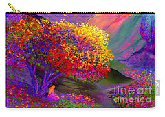 Colorful Enchantment Carry-all Pouch by Jane Small