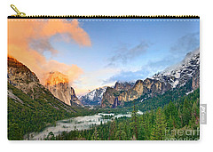 Colors Of Yosemite Carry-all Pouch by Jamie Pham