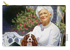 Companions In The Garden Carry-all Pouch by Candace Lovely