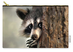 Conspicuous Bandit Carry-all Pouch by Christina Rollo
