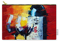 Conviviality Carry-all Pouch by Mona Edulesco