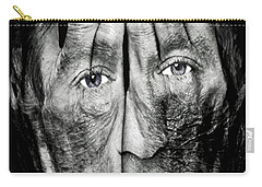 Cover Thy Faces Carry-all Pouch by Gary Keesler
